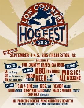 Hog Fest Flyer 2015